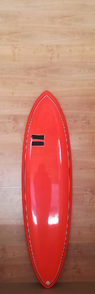 Fabio Ruina Surfboards - shortboard 6.6