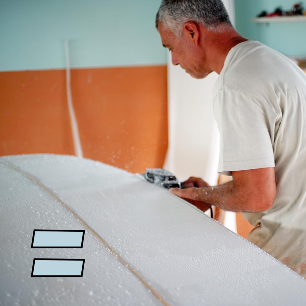 Longboard performante... costruizione epoxy... a 690€ solo da Fabio Ruina Custom Surfboards